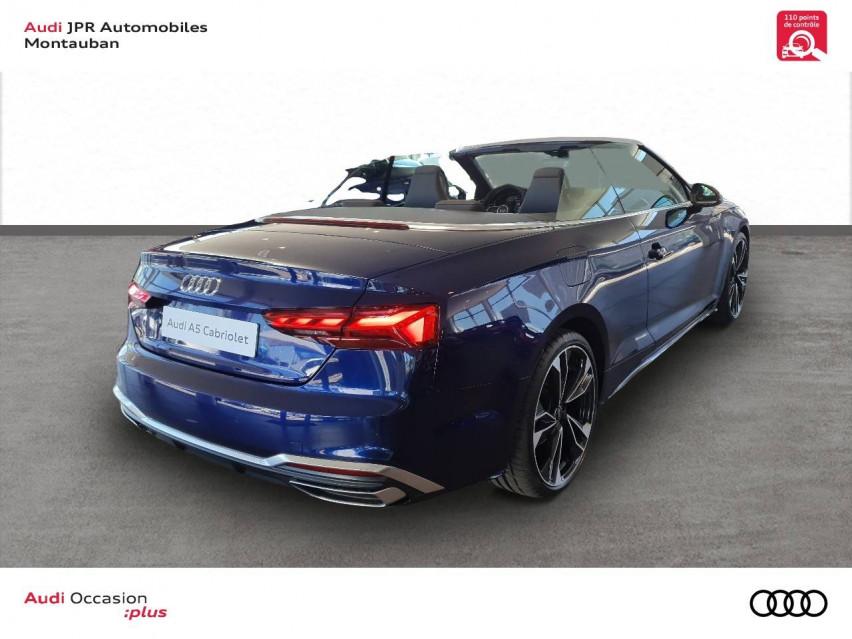 Photo voiture AUDI A5 A5 Cabriolet 40 TDI 204 S tronic 7 S Line 2p     neuve en vente à Montauban à 64804 euros