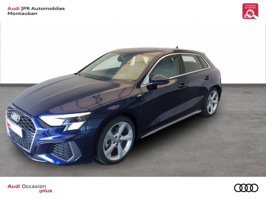 Photo voiture AUDI A3 A3 Sportback 35 TFSI 150 S line 5p     occasion en vente à Montauban à 36990 euros