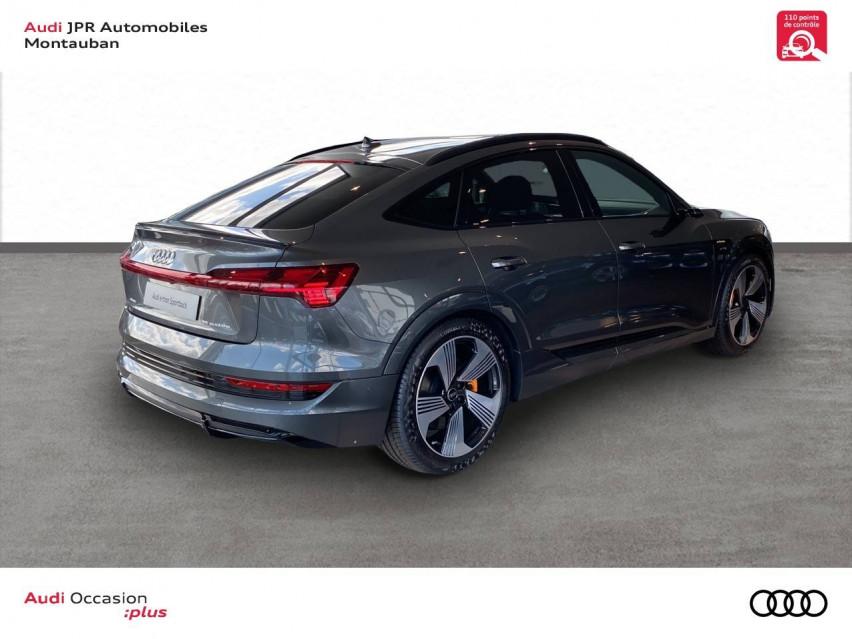 Photo voiture AUDI e-tron e-tron Sportback 55 quattro 408 ch S line 5p     neuve en vente à Montauban à 99374 euros