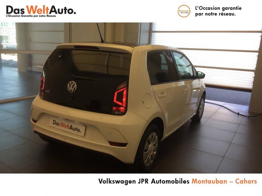 Photo voiture VOLKSWAGEN up! Up 1.0 75 BlueMotion Technology BVM5 Up! Connect 5p     occasion en vente à Montauban à 9890 euros