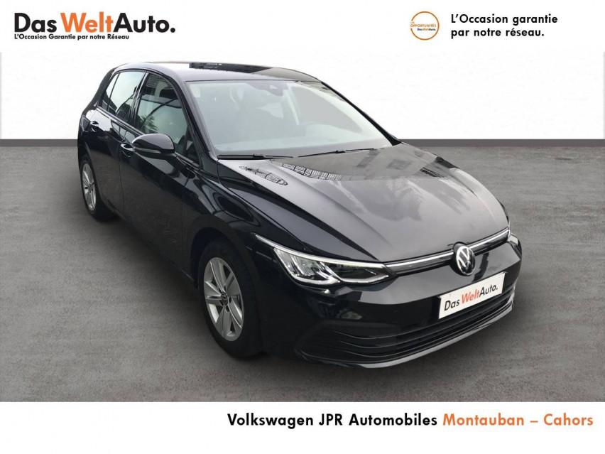 Photo voiture VOLKSWAGEN Golf Golf 1.0 TSI OPF 110 BVM6 Life 1st 5p     occasion en vente à Montauban à 20990 euros