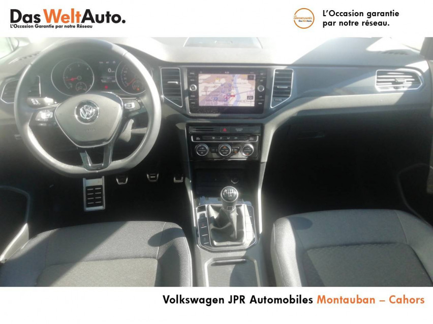 Photo voiture VOLKSWAGEN Golf Sportsvan Golf Sportsvan 1.6 TDI 115 FAP BVM5 Confortline 5p     occasion en vente à Montauban à 21990 euros