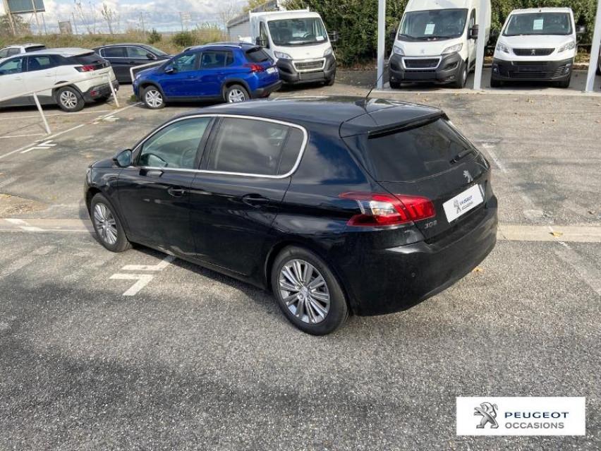Photo voiture PEUGEOT 308 1.5 BlueHDi 130ch S&S Allure     occasion en vente à Carcassonne à 21990 euros