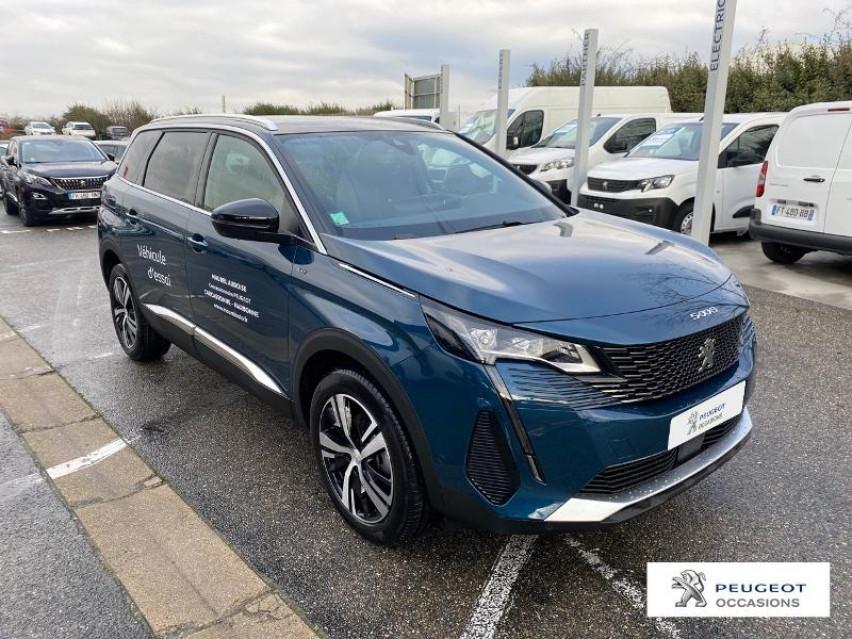 Photo voiture PEUGEOT 5008 1.5 BlueHDi 130ch S&S GT EAT8     occasion en vente à Carcassonne à 39900 euros
