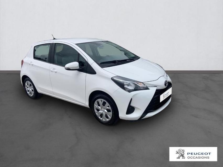 Photo voiture TOYOTA Yaris 110 VVT-i France Connect 5p MY19     occasion en vente à Carcassonne à 13590 euros
