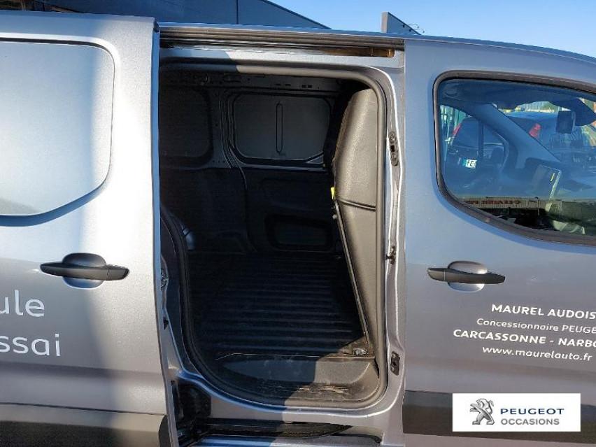 Photo voiture PEUGEOT Partner Long 950kg BlueHDi 130ch S&S Asphalt EAT8     occasion en vente à Narbonne à 21900 euros