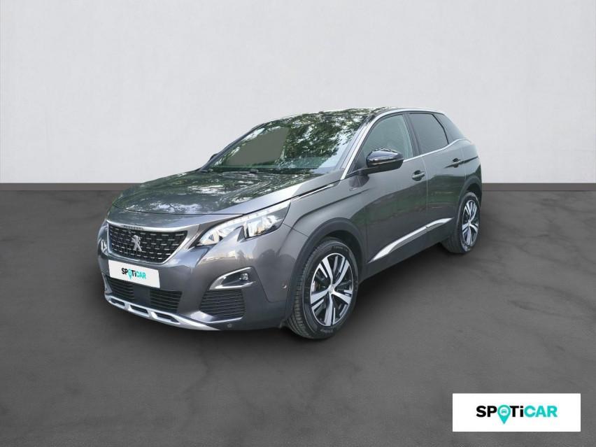 Photo voiture PEUGEOT 3008 Nouveau SUV 3008 GT Line 1,2L PureTech 130 S&S EAT     occasion en vente à Rodez à 21489 euros